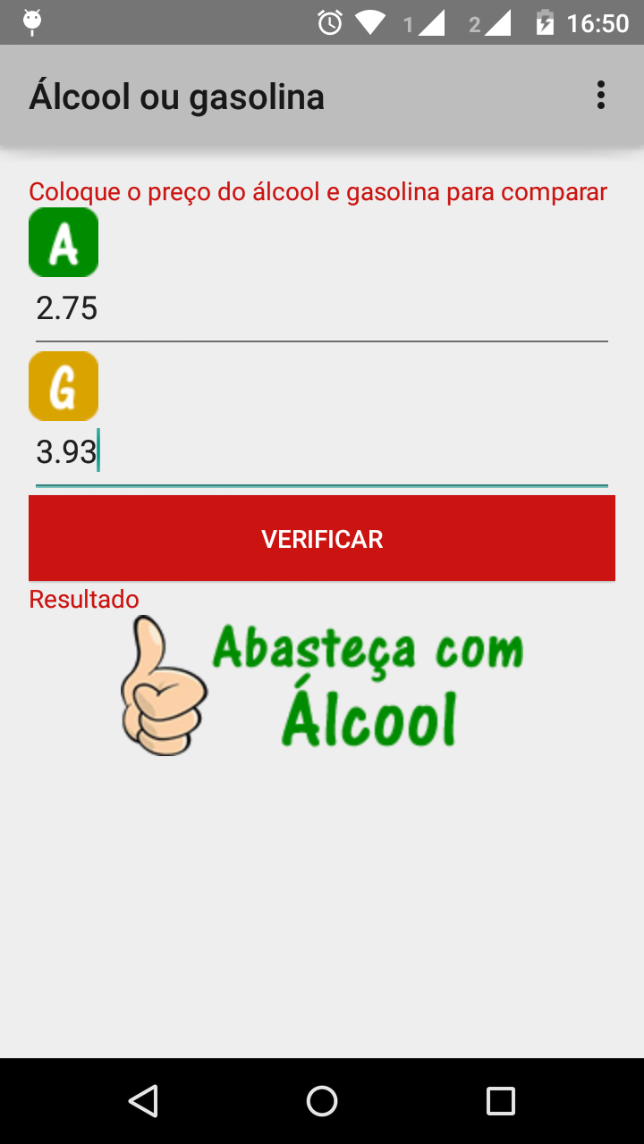 screenshot aplicacao exemplo